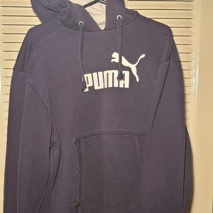 Puma Hoodie NAVY BLUE